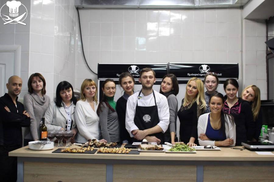 Practical experience obtained  at the master classes  of restaurant level!